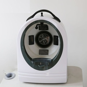 Beauty salon skin analyzer machine facial analysis