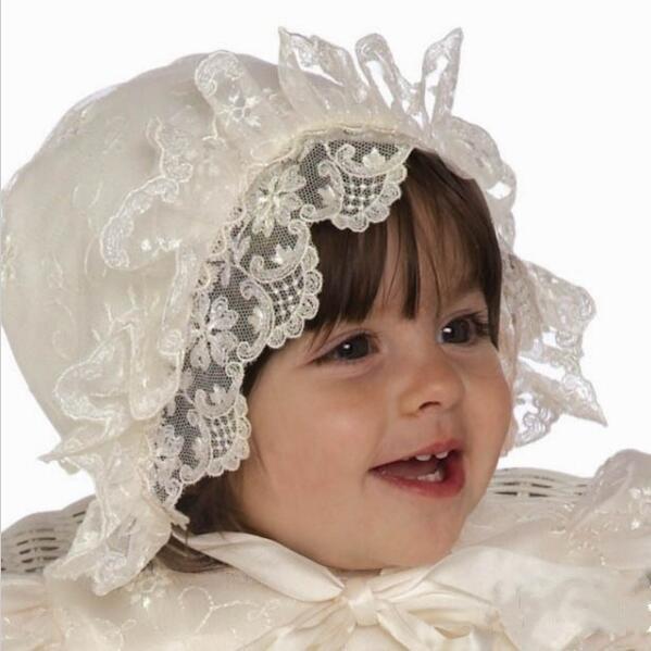 Wysokiej jakości dziewczynek sukienka chrzest dziecka chrzest - Odzież dla niemowląt - Zdjęcie 2