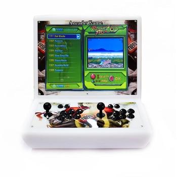 2 uds. IYO Pandora Box X consola Arcade pantalla LCD de 19 pulgadas Bartop 2600 juegos sin retraso Joystick botones Arcade 2 controlador Bartop