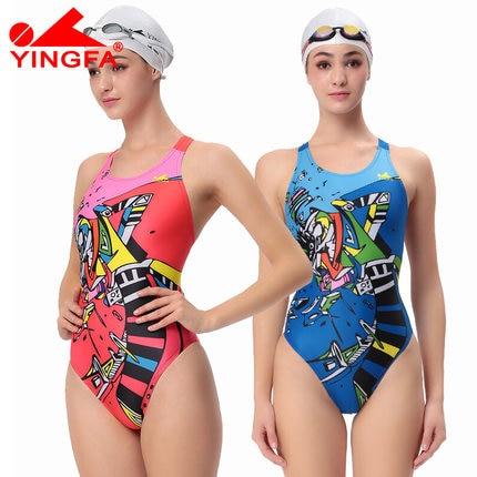 Yingfa Profesionální Lady Plavky Jeden kus Dámské plavky - Sportovní oblečení a doplňky