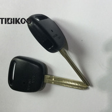 Запасной пульт автомобильной сигнализации чехол для дистанционный ключ для Toyota Shell Side 1 Кнопка лезвие toy43