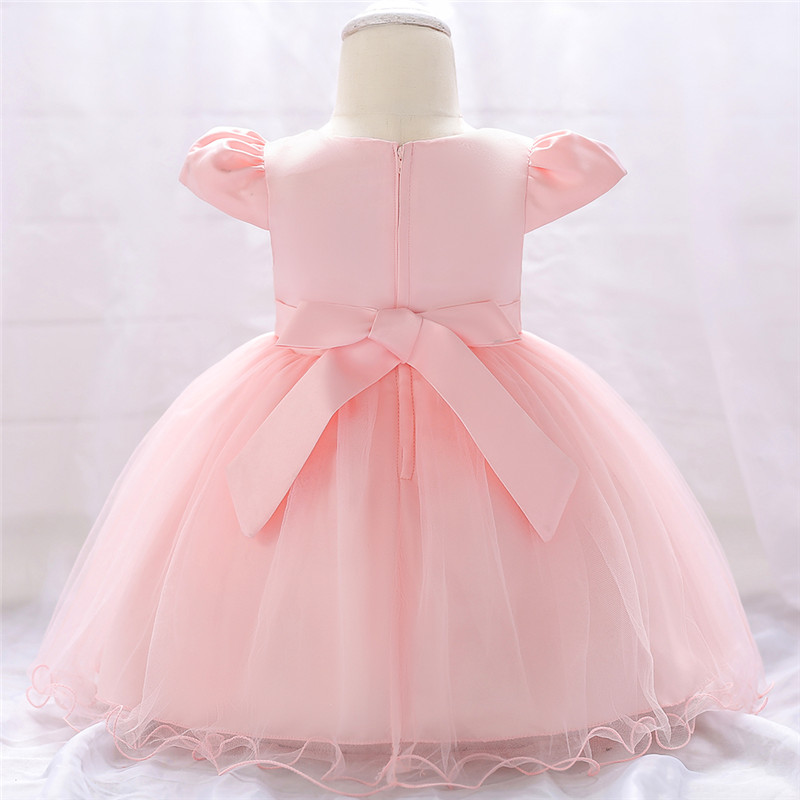 2019 Baby Girl Dress 2018 Infant Wedding Dress For Baby Winter Christmas Clothes First Birthday Girl Party Princess Dresses For Kids From Bosiju