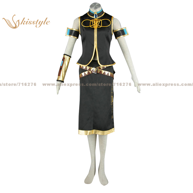 Kisstyle Fashion VOCALOID Megurine Luka Uniform COS Clothing Cosplay Costume,Customized Accepted