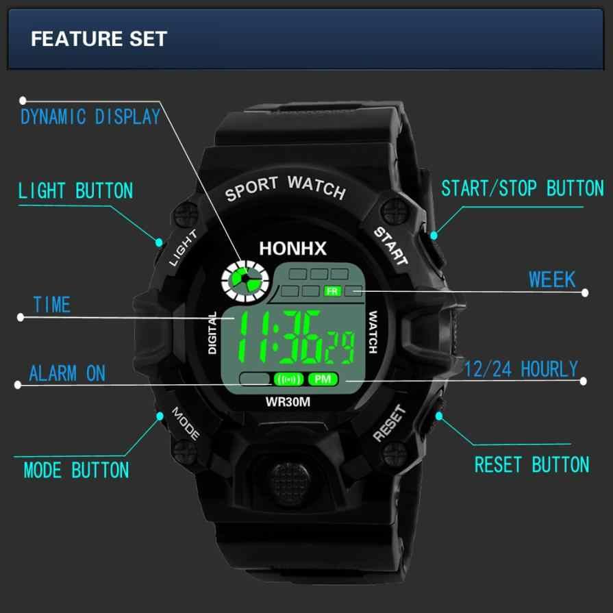 Relógio Das Mulheres Dos Homens Do Esporte Analógico Digital Militar Do Exército Digital LED Sports Relógio De Pulso 2019 esportes relogio inteligente