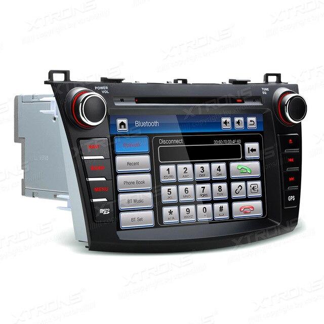 8 ''Double 2 DIN lecteur DVD de voiture Auto Radio GPS Navigation pour Mazda 3 2010-2013 vidéo CANbus Bluetooth Autoradio stéréo SD Audio