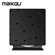 Maikou USB 3,0 Внешний оптический DVD RW привод CD DVD Rewriter Burner ридер Портативный сенсорный контроль rom для ноутбука PC MAC