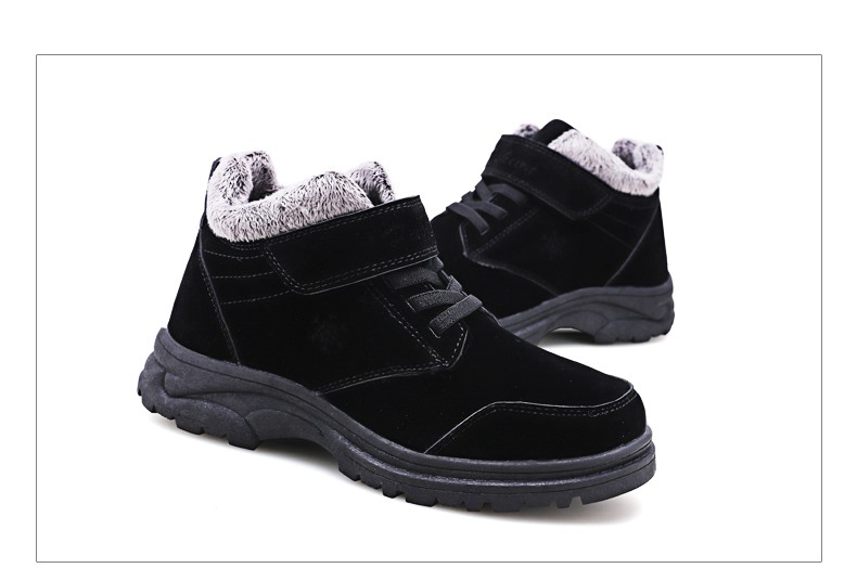 Fashion Winter Snow Boots Women Warm Casual Shoes Lace Up Waterproof Women Ankle Boots Non-Slip Rubber Sole Ladies Shoes XZ85 (28)