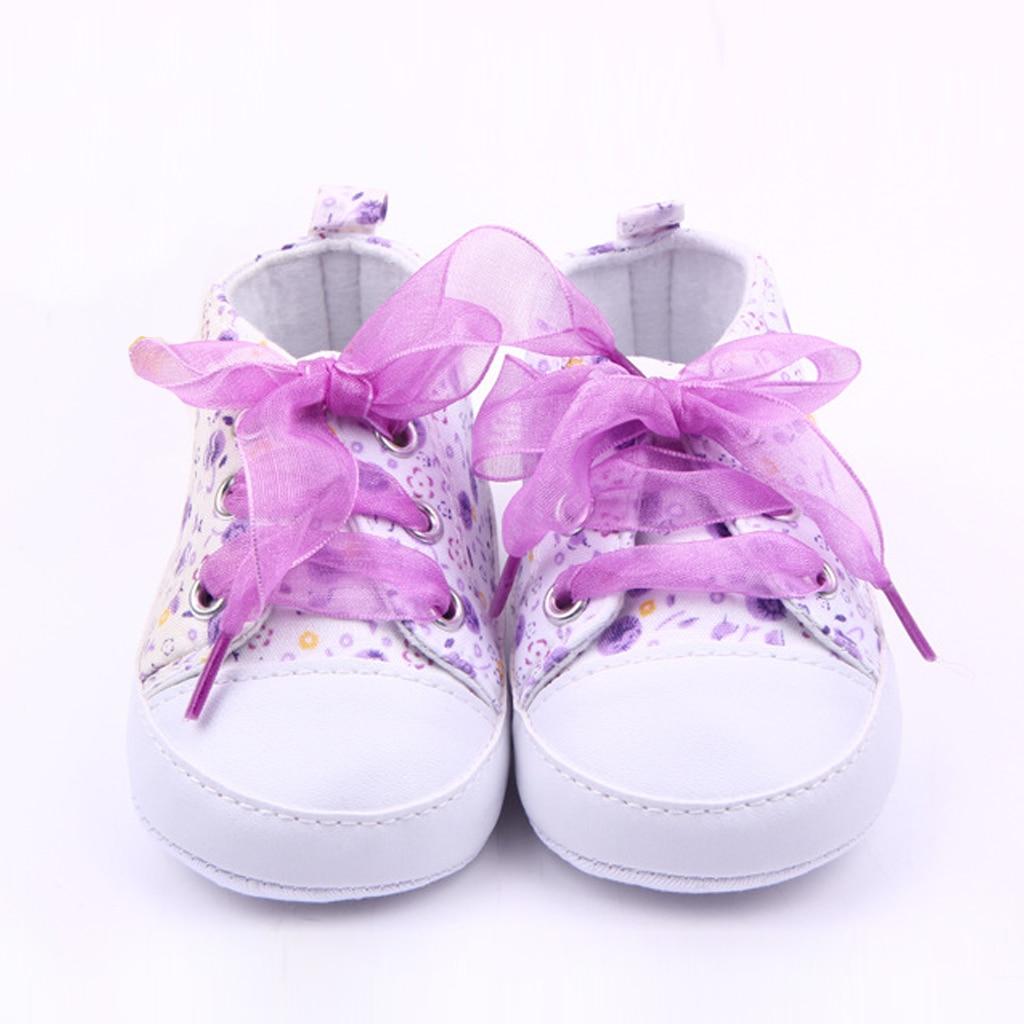 Kūdikių princesė rožinė avalynė mergaitėms karikatūros gėlės Nėriniai viršutiniai sportiniai bateliai pirmieji vaikiški vaikiški batai vaikams Kūdikių kūdikių šlepetės