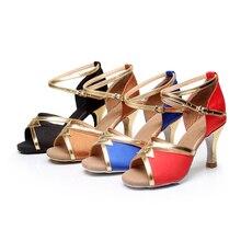 Brand New Women's Tango Ballroom Latin Dance Shoes heeled Sales