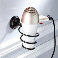 High Quality Black Oil Brushed Hair Dryer Rack Luxury Brass Hair Dryer Holder Wall Mounted Antique