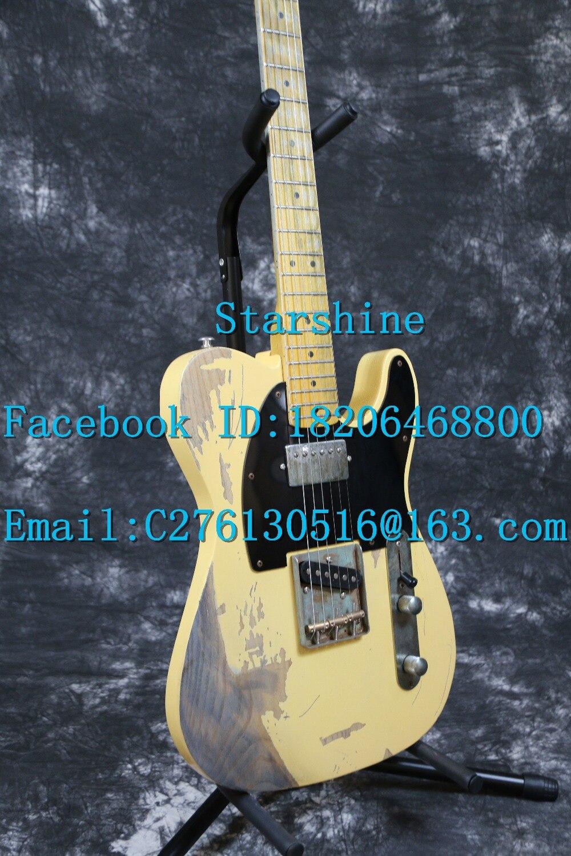 Starshine SR-LTL-039 Relic 100% hecho a mano 1960 FD Vintage TL - Instrumentos musicales - foto 2