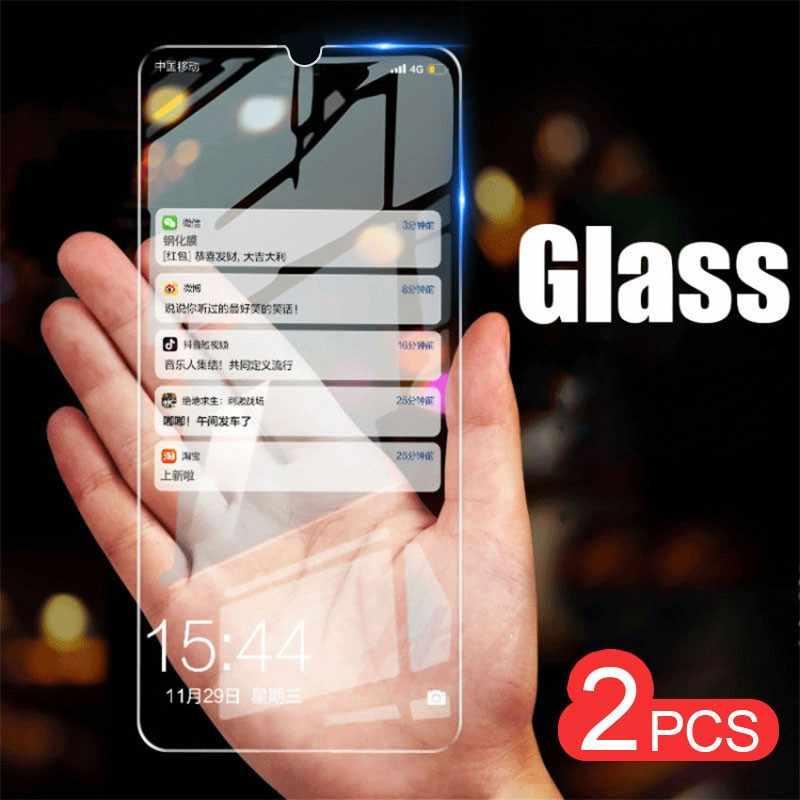 2 قطعة/الوحدة واقي للشاشة لسامسونج غالاكسي J7 J5 J4 J6 A6 A9 J8 A8 زائد A7 J2 J250 2018 المقسى الزجاج واقية