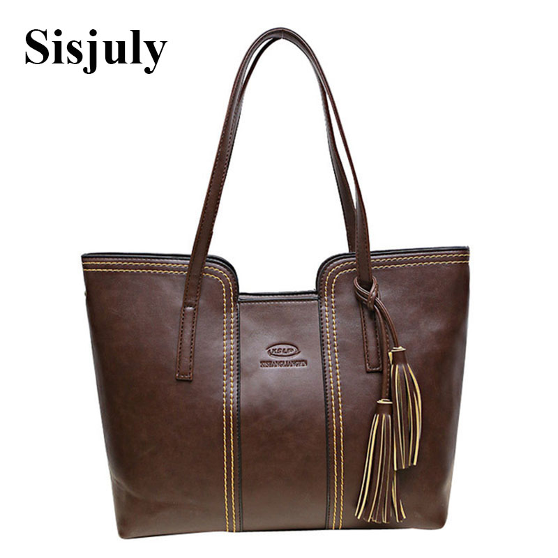 2017 High Quality Women Handbag Large Capacity Leather Womens' Pouch Bag Ladies Luxury Shoulder Bags Female Casual Tote Sac high quality authentic famous polo golf double clothing bag men travel golf shoes bag custom handbag large capacity45 26 34 cm