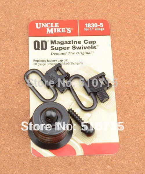 Hunting Gun sling qd super swivels fit Browning 20 Gauge Bps / a5 Shotguns Cap shooting 1830-5 M4680