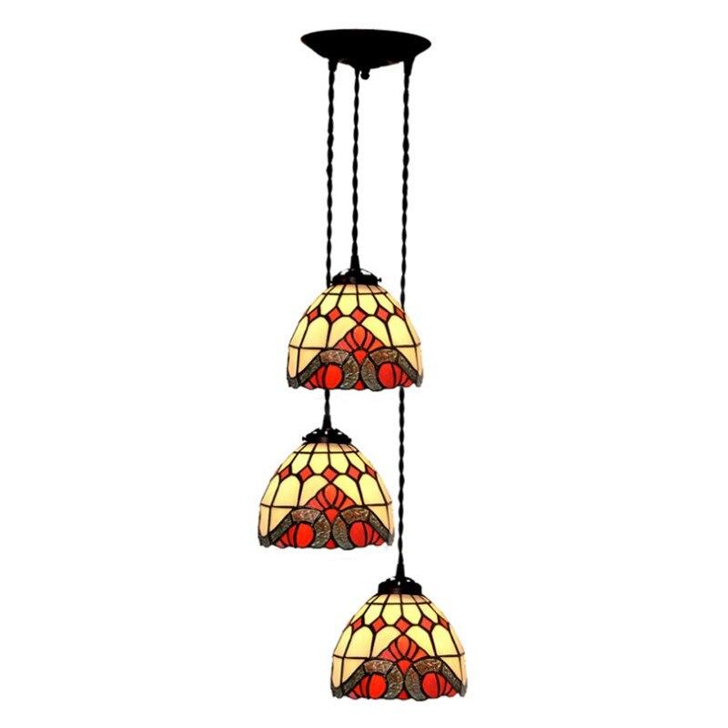 European Home Baroque Metal Chain Ceiling Hanging Light