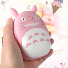 SD49 Universal TOTORO 12000mAh 18650 Power Bank External Battery Backup Charger For iPhone Android Mobile Phones Christmas Gift