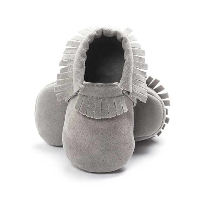 PU Suède Pasgeboren Baby Jongen Meisje Baby Mocassins Zachte Moccs - Baby schoentjes - Foto 1