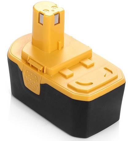 ФОТО power tool battery,RYO 18VA 2500mAh,130224028,130255004,ABP1801,ABP1803,BPP-1813,BPP-1815,BPP-1817,BPP-1817/2,BPP-1817M