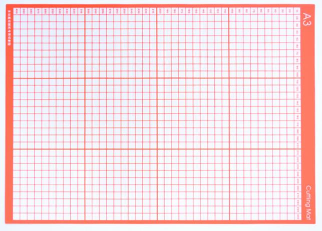 A3/A4 PVC Cutting Mat For Vicsign 12inch Mini Plotters Cutting board for crafts Patchwork cutter base