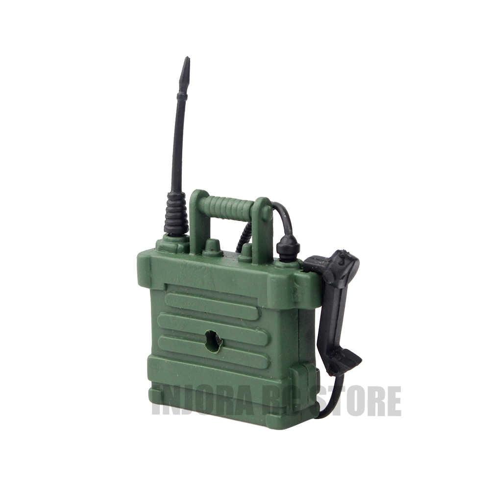 1 шт RC автомобилей Пластик мини радиостанции телефон для 1/10 Радиоуправляемый гусеничный TRX-4 TRX4 осевой SCX10 90046 Tamiya CC01 D90 D110 Traxxas