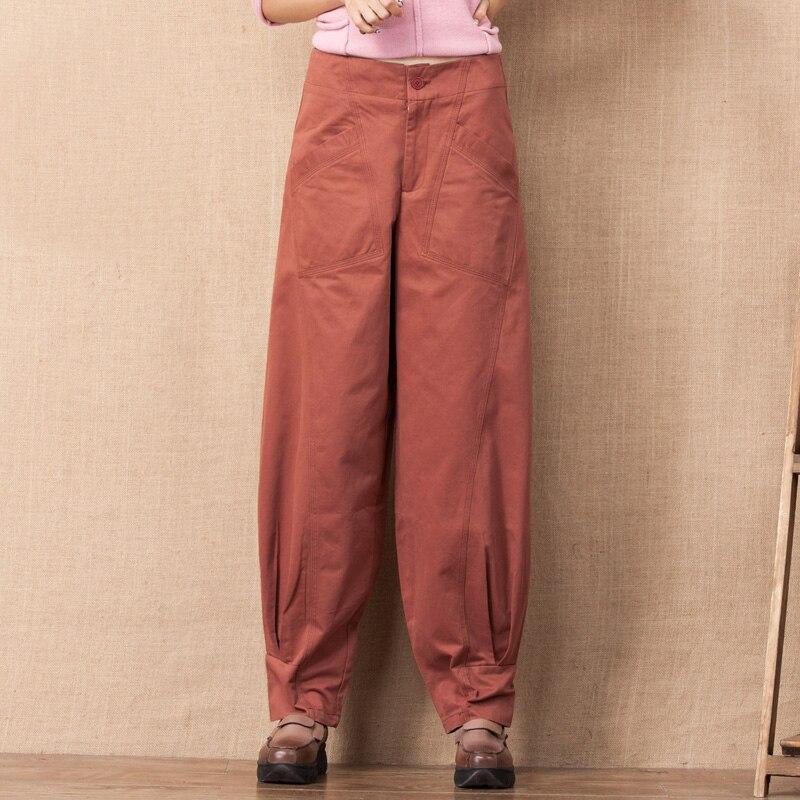 Plus Capris Rose Nouvelle Large Pour Jambe Lâche 100 Taille Noir Noir Casual Printemps Automne Femmes Arrivée Pantalon Pantalons Xty0601 rose La Femelle Coton rwwPFq07gx