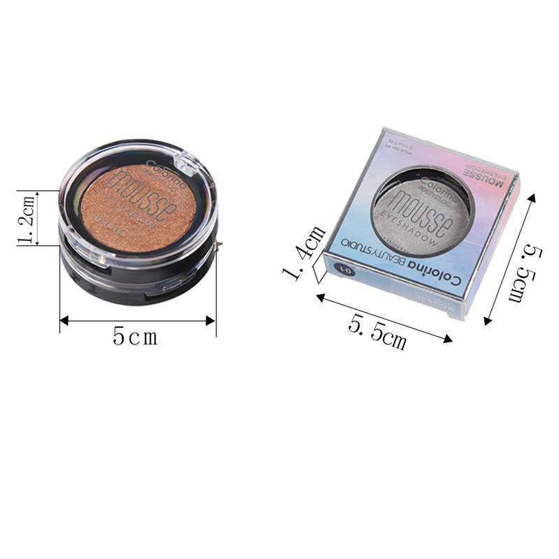 Diamond Glitter Eyeshadow 12 Colors Single Palette Illuminator Makeup Shimmer Metal Eye Shadow Shine Pigment Cosmetics in Eye Shadow from Beauty Health