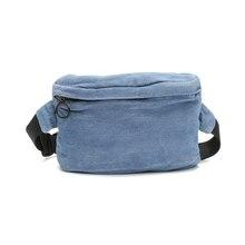 12PCS / LOT  Jeans Waist Bags Denim Fanny Packs Women Belt Bag Chest Pouch marsupio donna