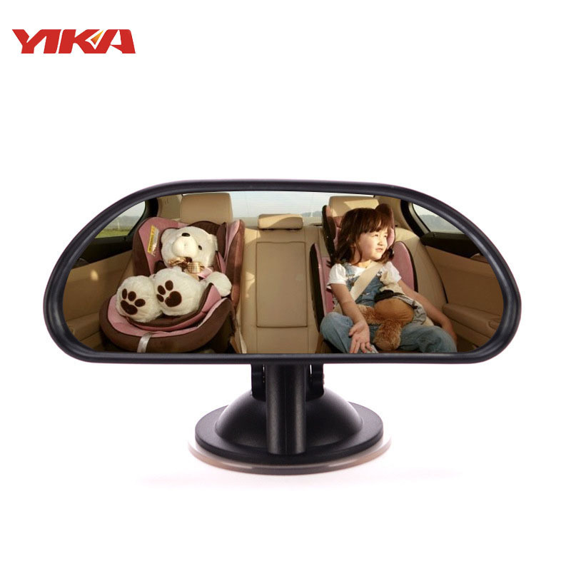 Automobile Within Decorate Baby Medium-sized Sucker Rearview Mirror Sucker Baby Rearview Mirror 360 Degree Rotating Wholesale