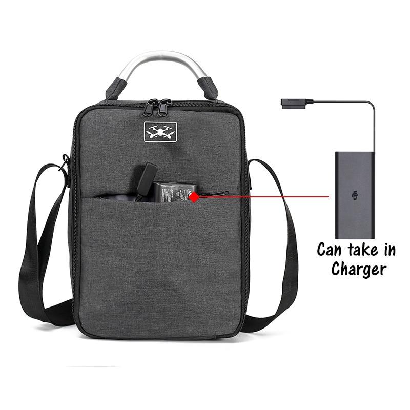 lowest price Portable Storage Bag Travel Case Carrying Shoulder Bag For DJI Mavic 2 Zoom Mavic 2 Pro Drone Handheld Bag Waterproof