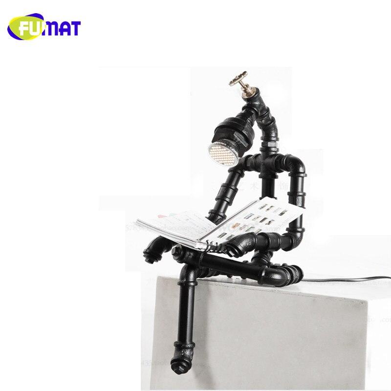 Iron Robot Lamps 11