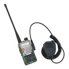 TOYL Baofeng Communication mégaphone microphone haut-parleur Radios microphone epaule Sacs bidirectionnelles Avec