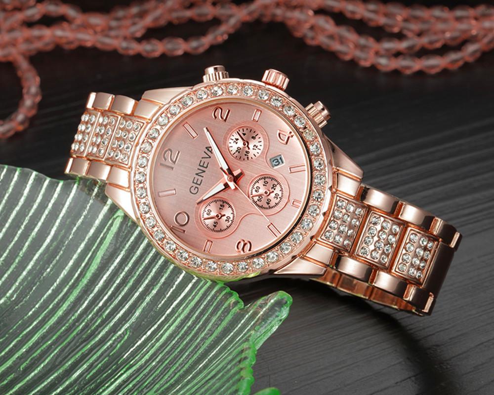 Branded Women Watches Top Brand Luxury 2017 Hot Sale relogio feminino Geneva Women Fashion Luxury Crystal Quartz Watch relojes (5)