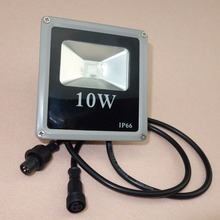 9 w led de alta potência ws2811 controlado rgb luz de inundação; endereçável; ip66