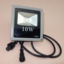 Luz de inundación RGB controlada WS2811, led de alta potencia de 9W, direccionable, IP66
