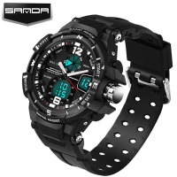 SANDA Fashion Sport Watch Men Top Brand Luxury Famous Electronic LED Digital Wrist Watches For Men