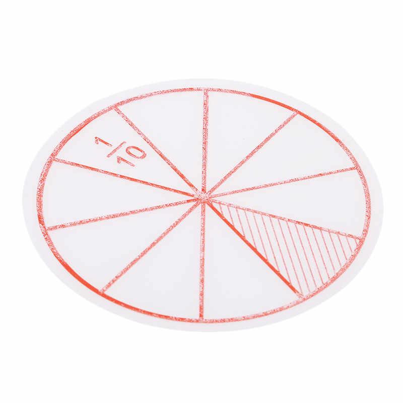 Montessori Speelgoed Educatief Speelgoed Voor Kinderen Plastic Nummer Fracties Cirkels Chips Wiskunde Leren Onderwijs Math Toys