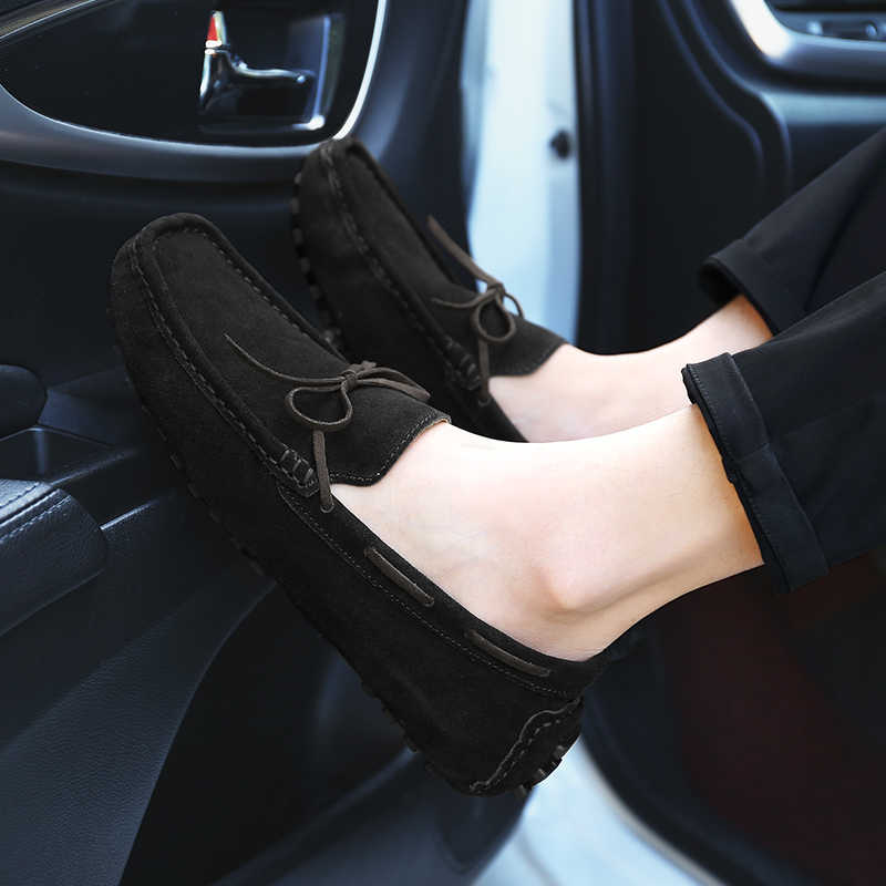2019 Nieuwe Mannen Casual Schoenen Zomer Mode Loafers Mannen Britse Stijl Rijden Schoenen Mocassins Retro Lui Zapatos Hombre HC-137
