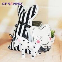 Stuffed-Toys Plush-Toy Unicorn Birthday-Gift Home-Decor Rabbit Cartoon Kawaii Children