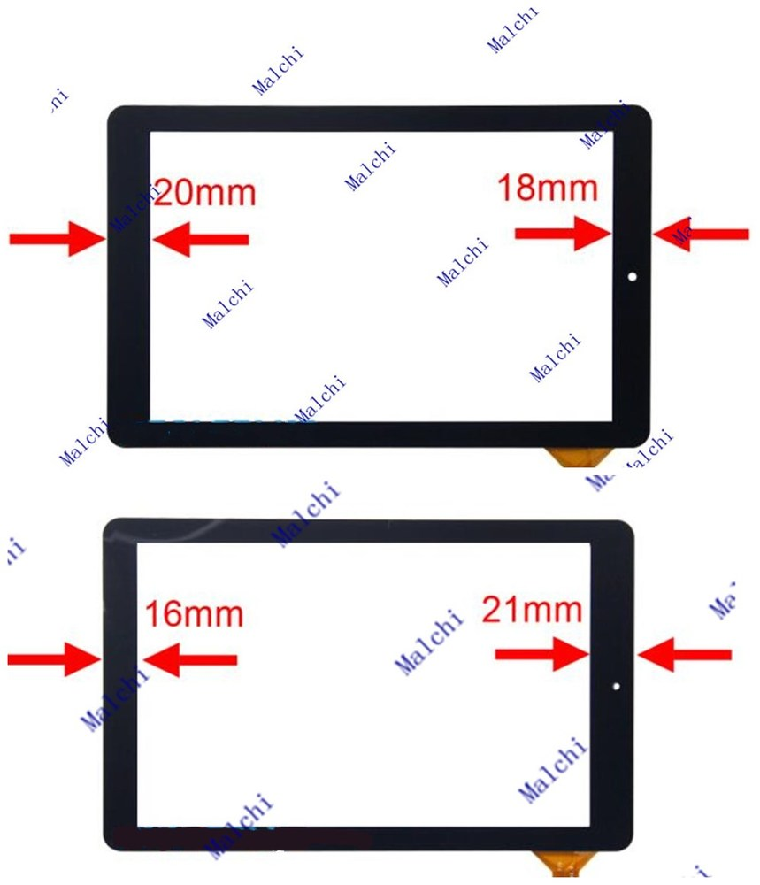 """10.1/"""" Digitizer Touch Screen Panel For RCA 10 Viking Pro RCT6303W87 DK Tablet"""