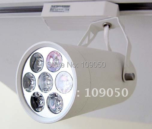 ФОТО 7W LED Track light,high power LED Spotlight,LED spotlight with integral dimmable power supply,SMTR-11-24