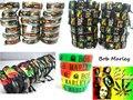 Nueva 35 en 1 Bob Marley RASTA Jamaica Reggae mixta joyas anillos y pulseras