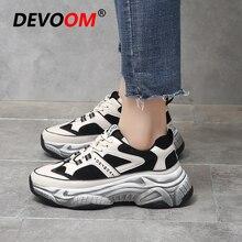 Novedad primavera 2019, zapatos de mujer a la moda Kanye West, zapatillas masculinas Vintage, zapatos de plataforma cómodos de invierno para Mujer 40