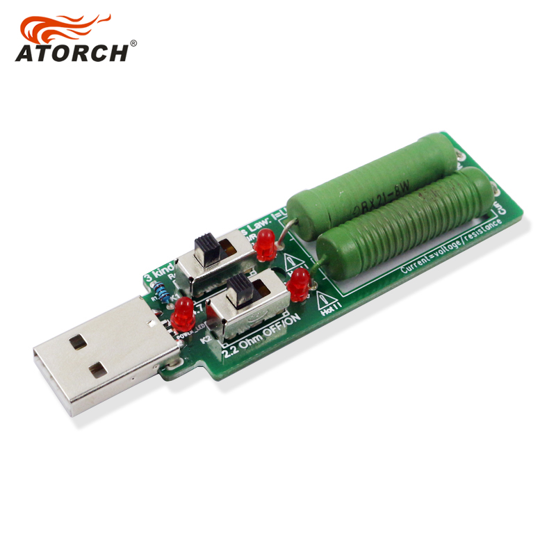 ATORCH USB odpor DC stejnosměrná elektronická zátěž Se - Měřicí přístroje - Fotografie 2