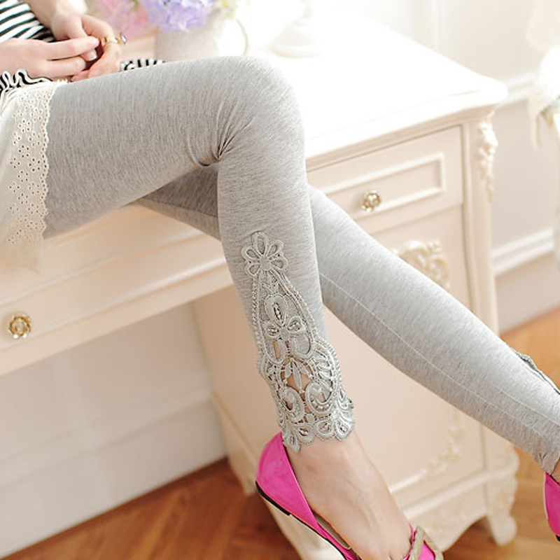 Maternity Underpant Spring And Autumn Korean Fashion Pregnant Thin Lace legging Pregnancy Women Support Abdominal trousers