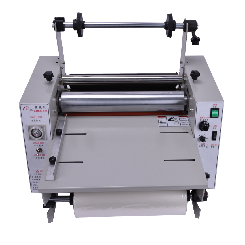 1pcs 2014 hot laminating machine, DC-380 hot laminator, roll laminating machine fm 360 paper laminating machine students card worker card office file laminator steel roll laminating machine