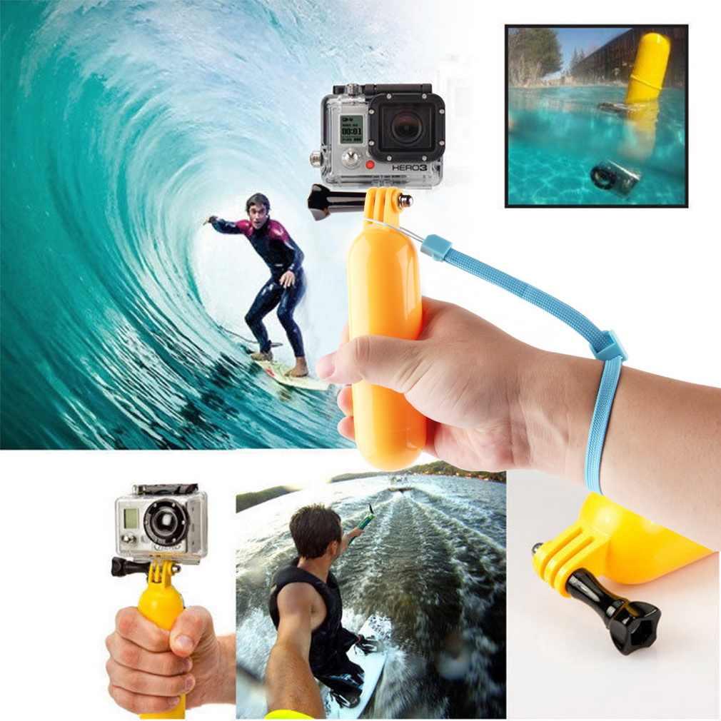 Go pro Floaty flotante agarre de mano accesorio de montaje flotador + correa para GoPro Hero 3 + 3 2 1 caliente nueva llegada