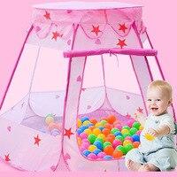 Детский манеж переносное ограждение для детей Детские ограждение для детского манежа дети складываемая Игровая палатка девочка принцесса ...