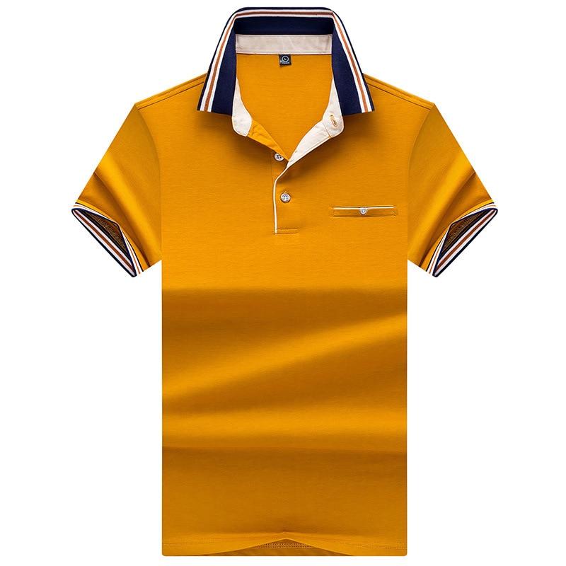 New Men's   Polo   Shirts Short Sleeve Summer Male Fashion High Quality Fit Slim Casual Solid   Polo   Shirt Men Brand Clothing AJ7189