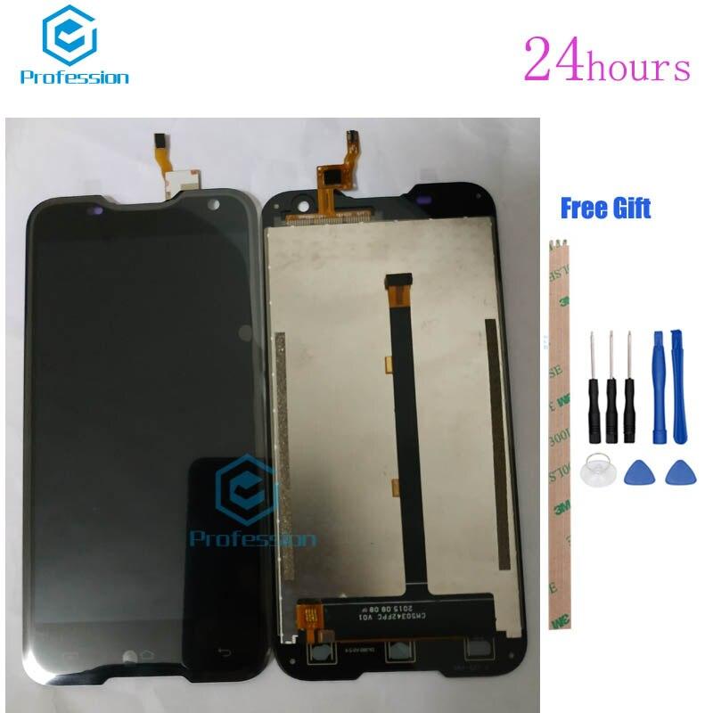 5 pour Écran D'origine Pour Blackview BV5000 LCD Affichage et Écran Tactile Digitizer Assemblée Rempl ciment Outils + Adhésif stock