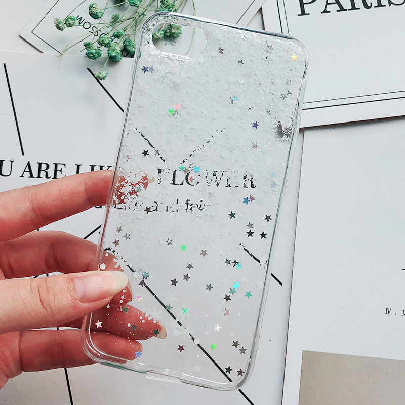Luxury Gold Foil Bling Marble Phone Cases For iPhone X 10 Cover Hole Soft TPU Cover For iPhone 7 8 6 6s Plus Glitter Case Coque (8)